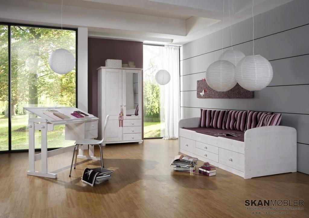 bett captain kiefer massiv von dolphin g nstig bestellen bei skanm bler. Black Bedroom Furniture Sets. Home Design Ideas