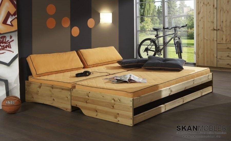 bett flipper mit g steplatz von dolphin g nstig bestellen bei skanm bler. Black Bedroom Furniture Sets. Home Design Ideas