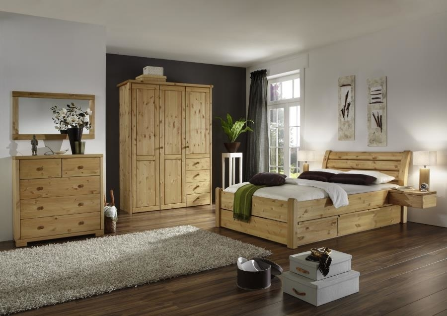 kleiderschrank rauna 5 t rig mit glatter front von pinus g nstig bestellen bei skanm bler. Black Bedroom Furniture Sets. Home Design Ideas