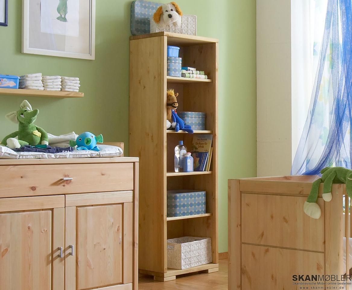 Standregal massivholz guldborg von pinus g nstig bestellen bei skanm bler - Babyzimmer romantik ...