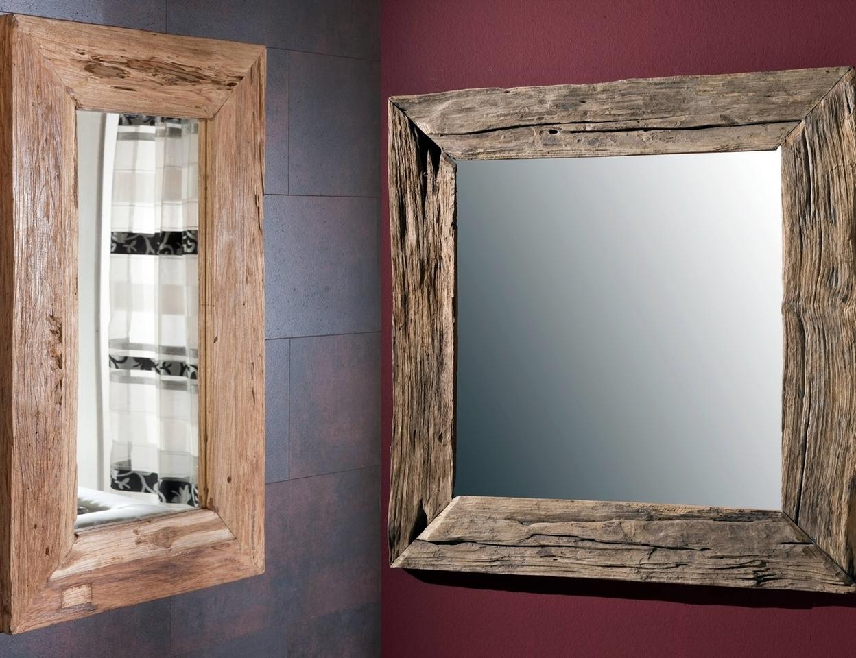 teakholz spiegel unikat von henke g nstig bestellen bei skanm bler. Black Bedroom Furniture Sets. Home Design Ideas